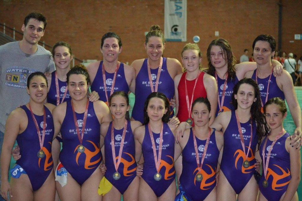 Devojke Vračara vicešampionke Srbije
